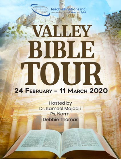 valley bible tour